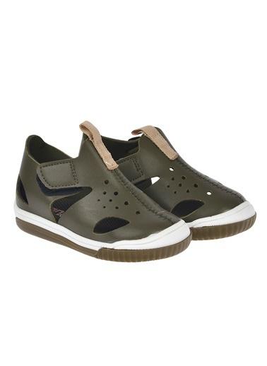 Pandora Kiko Pnd 700.S.500 Günlük Cırtlı Kız/Erkek Çocuk Sandalet Ayakkabı Haki